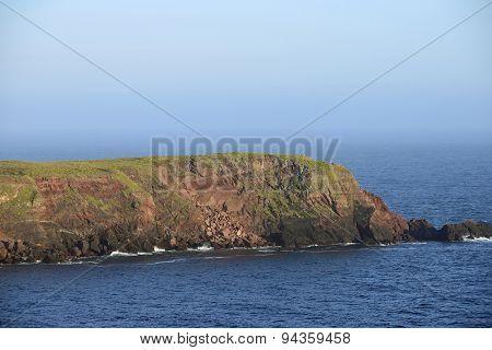 Rockfall On Gateholm Island