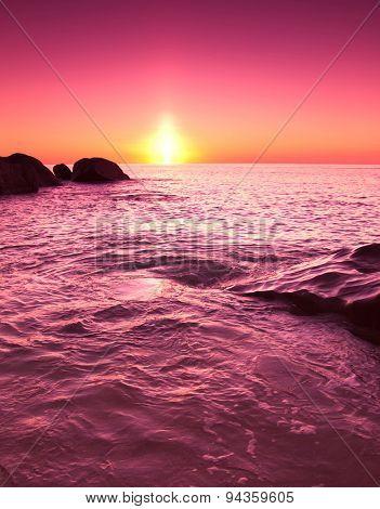 Twilight Shore Landscape