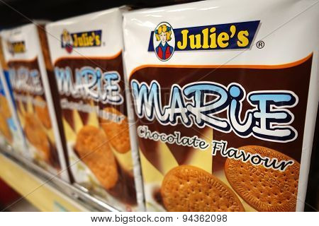 Julies Marie Chocolate Flavour Biscuit