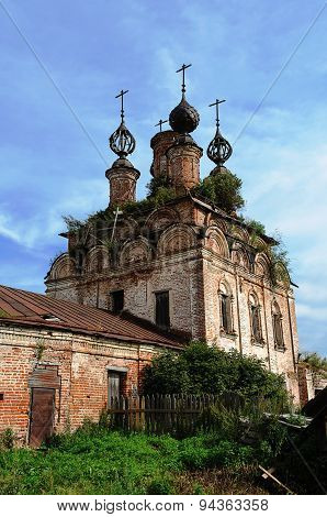 Ruins Of Ancient Orthodox Church
