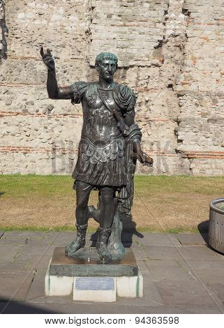 Trajan Statue In London