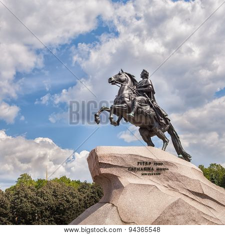 Bronze Horseman - Monument to Peter the Great in Saint Petersburg
