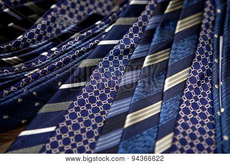 Blue Men's Ties