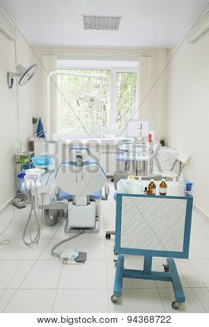 Interior of a dentist office