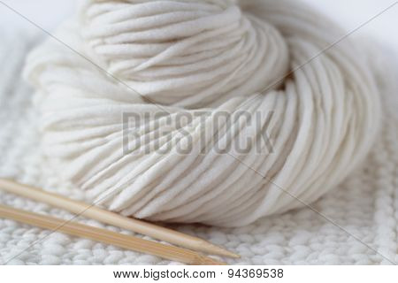 Soft Wool Yarn Knitting