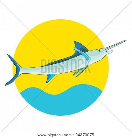 An image of a swordfish.