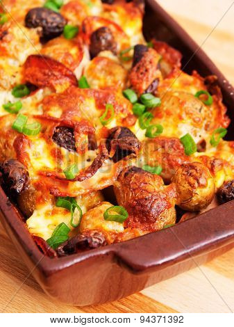 Potato Casserole With Olives