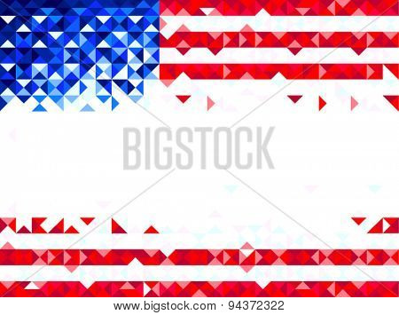 Fourth of July abstract background