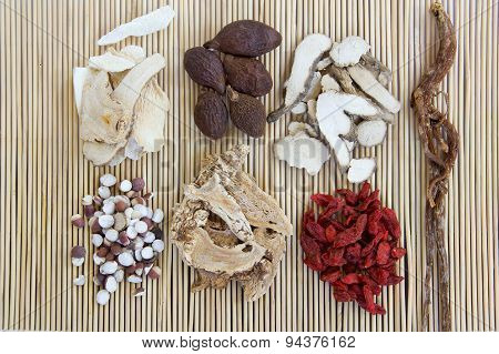 Chinese herb medicine ingredints