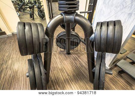 Weights barbells