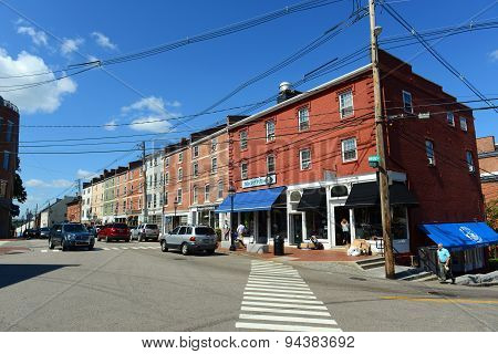 Market Street, Portsmouth, New Hampshire