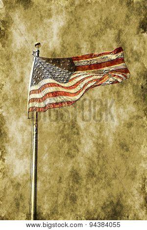 Ye Olde American Flag
