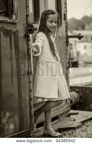 Thai Girl On Train