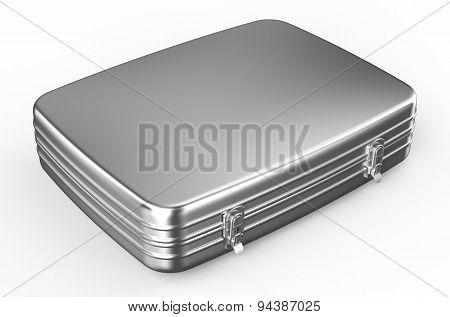 Metallic Suitcase Or Briefcase