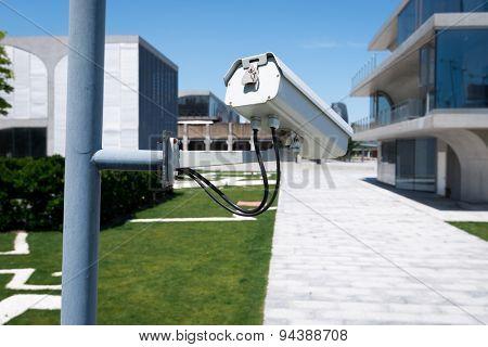 cctv in urban resident district