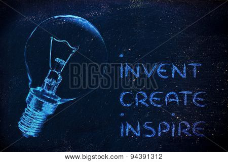 From A Brilliant Idea To Real Success: Invent, Create, Inspire