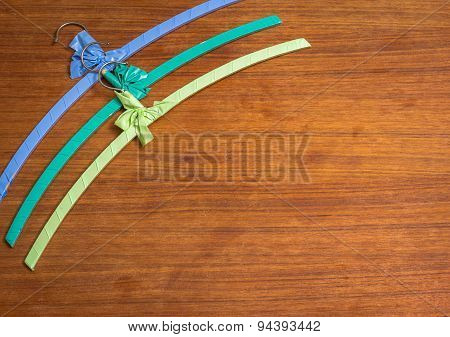 Colourful Vintage Hangers