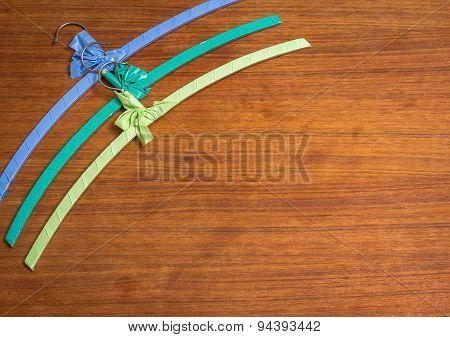 Colourful Vintage Hangers