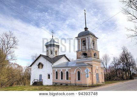 Trinity Church in the Yamskaya Sloboda. Veliky Novgorod, Russia