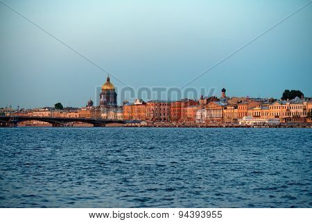Saint-petersburg In The Evening
