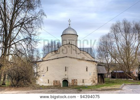Church of Clement, Pope of Rome. Veliky Novgorod, Russia