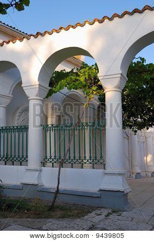 Court Yard In Karaite Temple