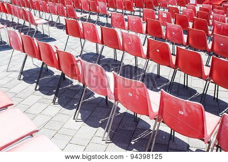 Red Chair Lined