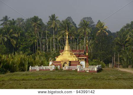 Asia Myanmar Myeik Temple