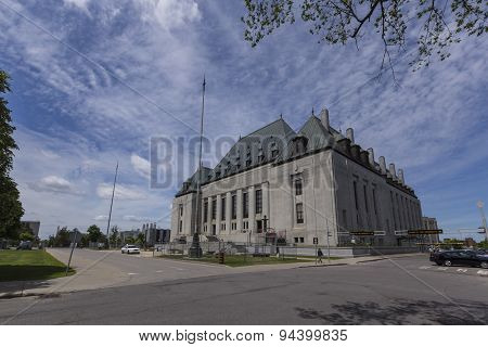 The Supreme Court of Canada building