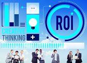 foto of revenue  - Return On Investment Financial Management Revenue Concept - JPG