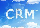 image of customer relationship management  - Cloud text  - JPG