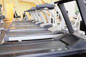 stock photo of treadmill  - The image of treadmill - JPG