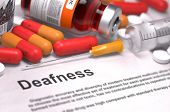 stock photo of medical injection  - Deafness  - JPG