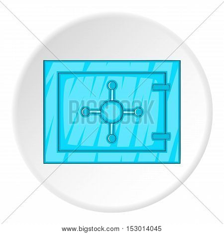 Safe icon. Cartoon illustration of safe vector icon for web