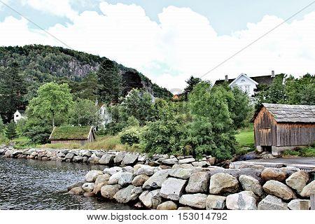 Autumn Norway Landscape
