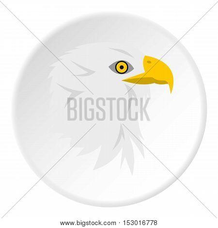 Eagle icon. Flat illustration of eagle vector icon for web