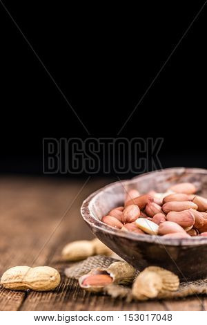 Portion Of Peanut Seeds