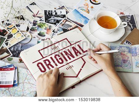 Original Brand Patent Product Trademark Graphic Concept