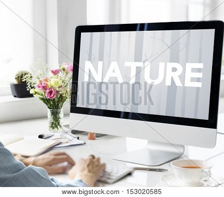 Nature Ecology Go Green Concept