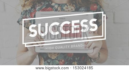Success Excellence Goal Growth Victory Winning Concept