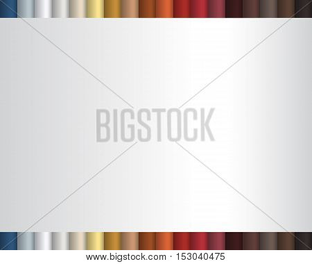 Colors rolls abstract background template. Vector illustration.