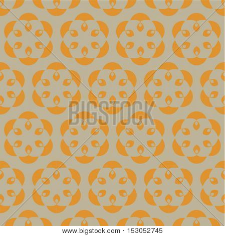 An elegant vector pattern made with an Indian lamp motif for the occasion of Diwali- a most celebrated festival in India.