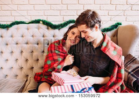 Love Family Joy Happiness Christmas New Year Calm Winter Concept