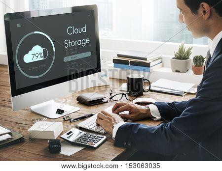 Cloud Storage Upload Interface Concept