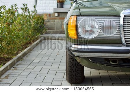 German Youngtimer Sedan