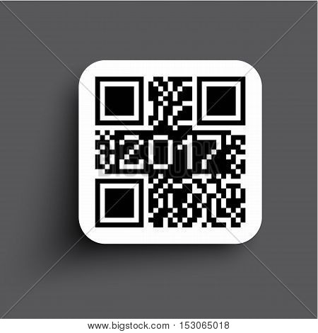 2017 QR CODE HAPPY NEW YEAR for web