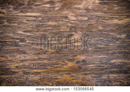Light rough wooden background with horizontal boards. Oak