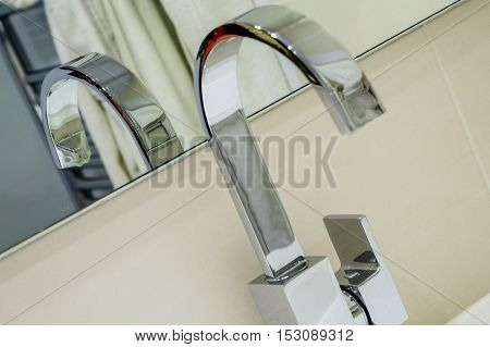 Modern Stainless Steel Faucet Knob