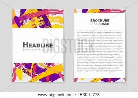 Abstract vector layout background set. For art template design, list, page, mockup brochure theme style, banner, idea, cover, booklet, print, flyer, book, blank, card, ad, sign, sheet, flyer, a4.