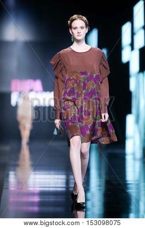 Bipa Fashion.hr Fashion Show: Robert Sever, Zagreb, Croatia.